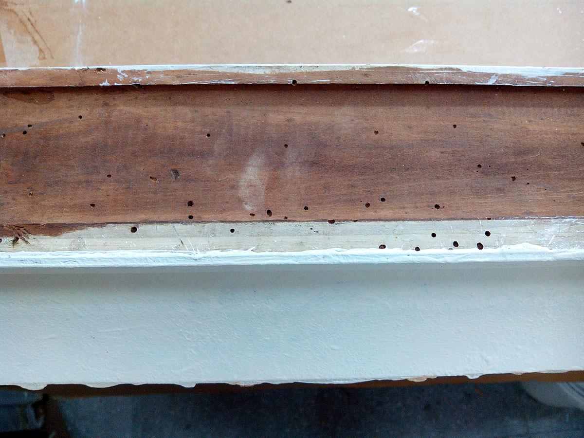 Restauraci n de carcoma esteve enmarcadores artesanos desde 1982 - Carcoma en los muebles ...