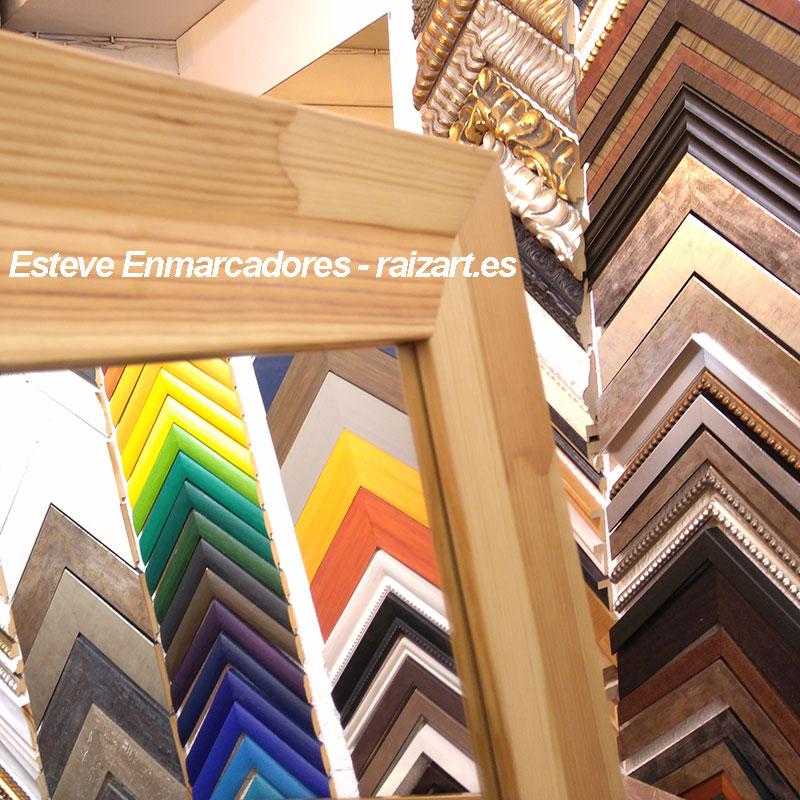 Espejos a medida - Esteve Enmarcadores (artesanos desde 1982)