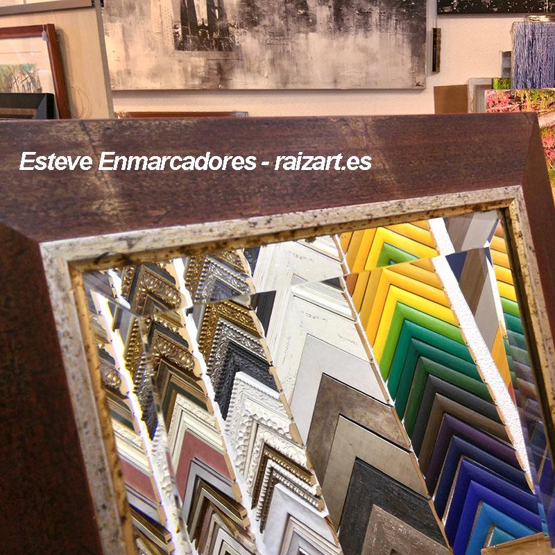 Espejos a medida esteve enmarcadores artesanos desde 1982 - Espejo a medida ...