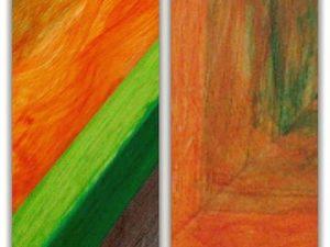 Preparando #nuevas #colecciones de #marcos #decorados Los #colores y las #formas fluyen y se #combinan entre sí para que nuestros #enmarques realcen la #obra que pongamos dentro.#marcohechoamedida #unicos #hechoamano #taller #barcelona #fortpienc