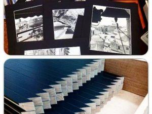 Preparando la próxima #exposición del #fotógrafo Joan Mayoral de #fotos en #blancoynegro de #alger en la isla de #Cerdeña , con su #marcoamedida y paspartout #negro#arte #artesanía #barcelona#fortpienc  #hechoamano
