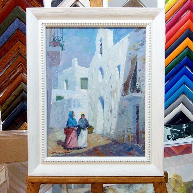 Pintura de Domenech enmarcada - Esteve Enmarcadores (artesanos desde ...