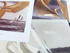 Láminas de veleros clásicos