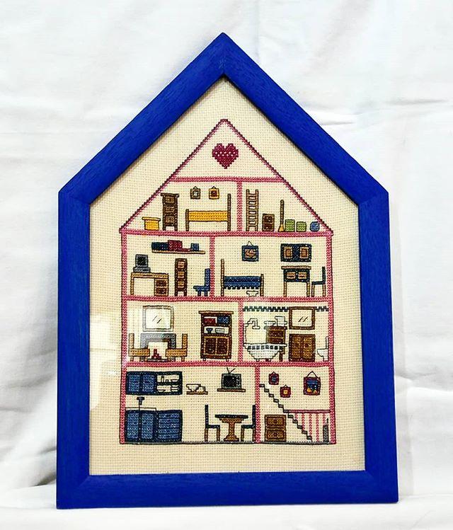 Marcos a medida con forma de casa. Artesanía