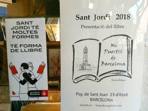 Sant Jordi 2018 Libros de Artista en P. Sant Joan BCN