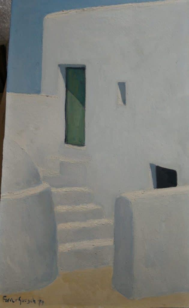 Ferrer Guasch. Pintor de blancos y texturas - Esteve Enmarcadores