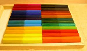 molduras color decoradas a mano Esteve Enmarcadores