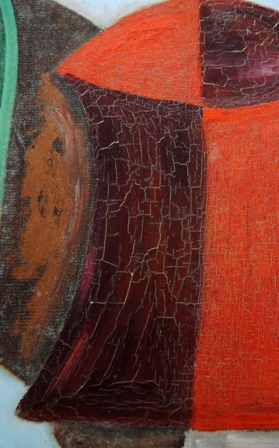 Restauración de Pintura craquelada