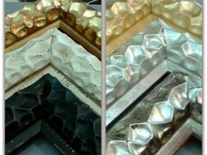 Nueva #colección de #molduras para nuestros #marcosamedida con unos #perfiles muy originales decorados en #oros #platas #decapados y #negros con distintas #pátinas Tienen muchas posibilidades. Son #perfiles con #personalidad propia. Muy #elegantes