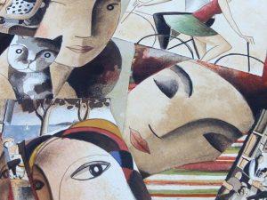 Ya tenemos las nuevas #litografias de #didierlourenço presentadas en la Feria de #estampa Tan #buenas y #originales como siempre. Ahora a #enmarcar una por una#barcelona #fortpienc  #marcoshechosamedida #arte #artesanía #decoración