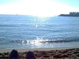 27 Diciembre #domingo #sol #naturaleza #relax #airelimpio #descanso #respirar #arena #playa #invierno ???Mañana… a trabajar con fuerzas recuperadas ;-)#barcelona #villaolimpica #igersbarcelona #arte #artesanía #fotografía