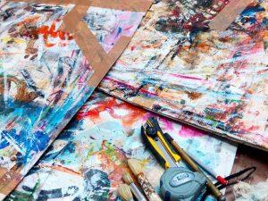 Cartones abstractos