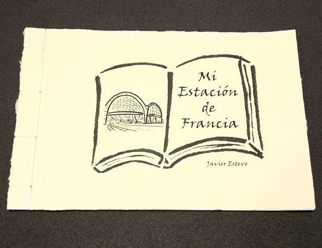 Libro de Artista Mi Estación de Francia