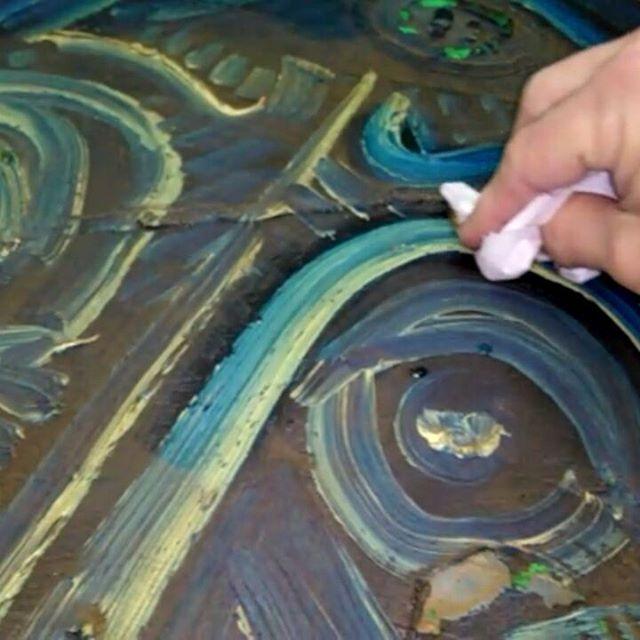 Limpieza de pintura al óleo - Esteve Enmarcadores