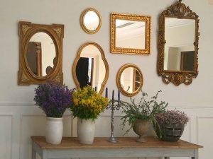 Espejos que decoran