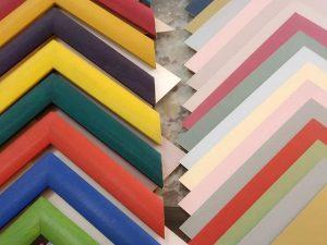 Cómo combinar colores al enmarcar