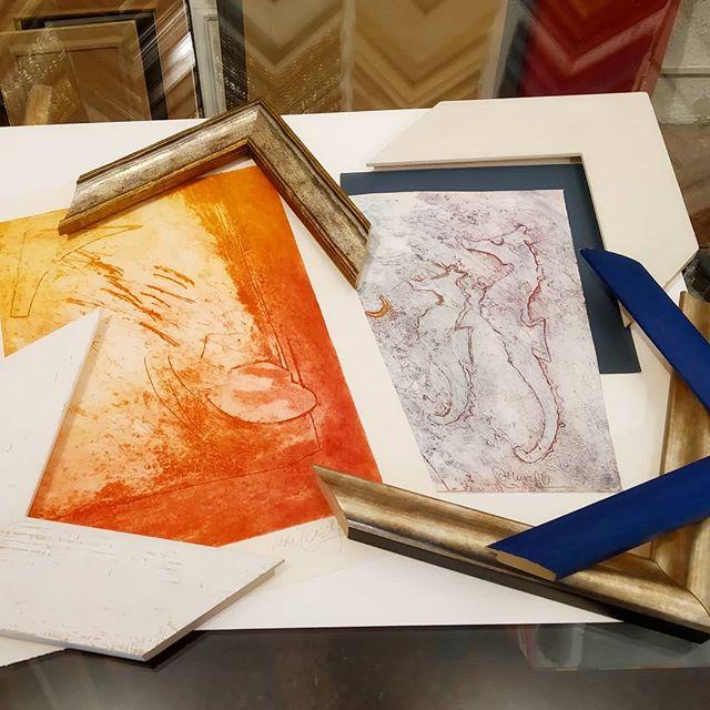 Propuestas de enmarcación para grabados - Esteve Enmarcadores