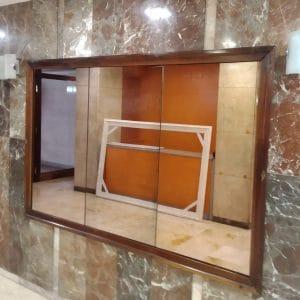 Aspecto del antiguo marco del espejo - Esteve Enmarcadores