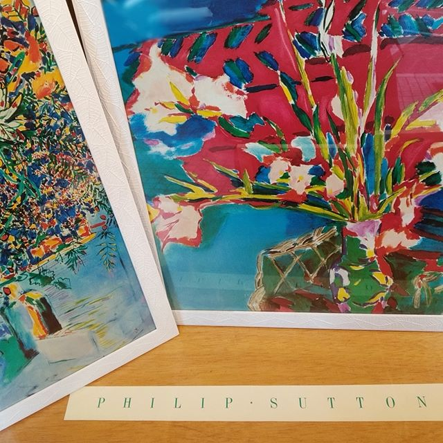Reproducciones de Philip Sutton enmarcadas - Esteve Enmarcadores