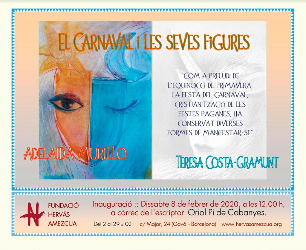 Cartel de la Exposición A. Murillo y T. Costa - Esteve Enmarcadores