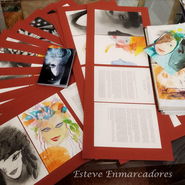 Exposición de Adelaida Murillo y Teresa Costa - Esteve Enmarcadores
