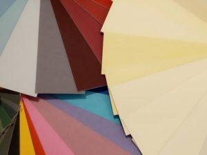 Elegir colores para enmarcar