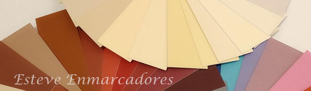 Elegir colores para enmarcar - Colores cálidos - Esteve Enmarcadores