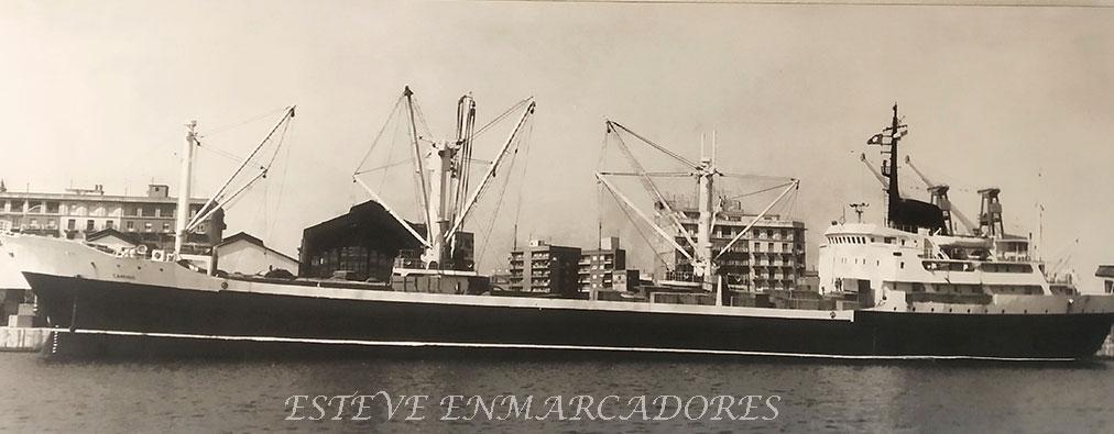 Fotografía en blanco y negro sobre tela MN Camino - Esteve Enmarcadores