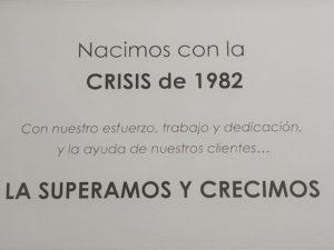 Crisis 1982 - Esteve Enmarcadores
