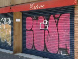 Enmarcar graffitis