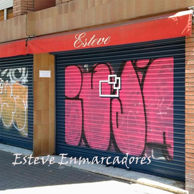 Enmarcar graffittis - Esteve Enmarcadores