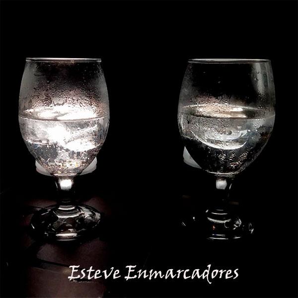 Agua hielo calor y noche - Esteve Enmarcadores