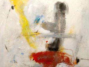 Óleo abstracto Original
