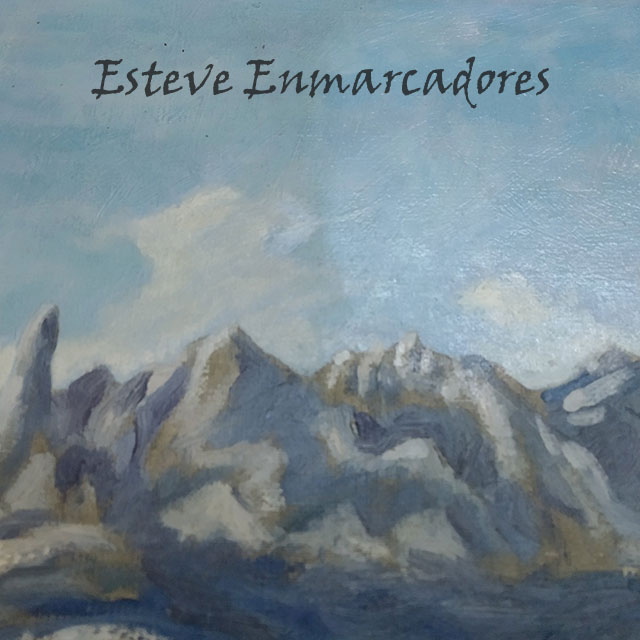 Mitad de la pintura limpia - Esteve Enmarcadores
