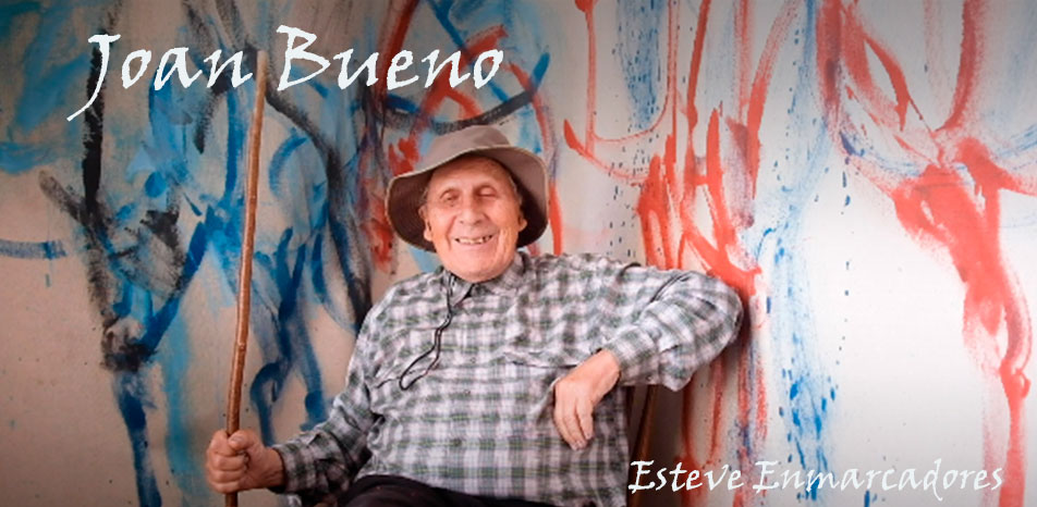 Joan Bueno pintor de la calle - Esteve Enmarcadores
