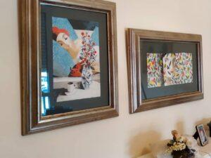 Colgar cuadros y decorar