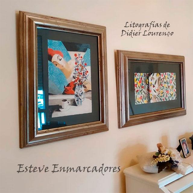 Colgar cuadros y decorar - Esteve Enmarcadores
