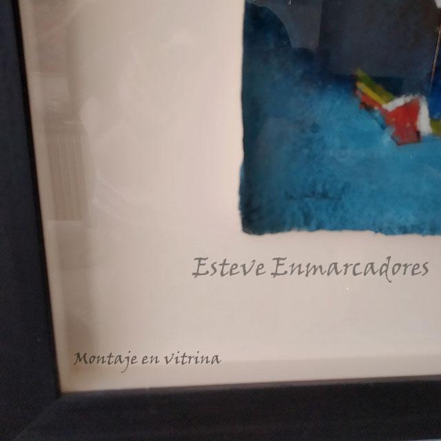 Natxo Arteta - Vitrina - Esteve Enmarcadores