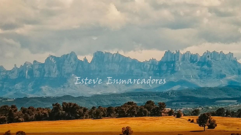 Montserrat Foto sobre tela - Esteve Enmarcadores