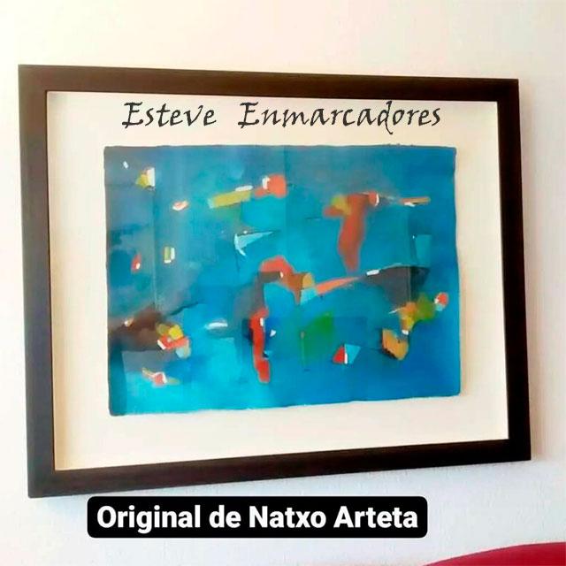 Pintura de Natxo Arteta - Esteve Enmarcadores